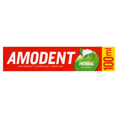 Kép Amodent Herbal fogkrém 100 ml