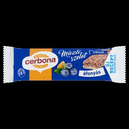 Kép Cerbona áfonyás müzliszelet joghurtos bevonó talppal 20 g