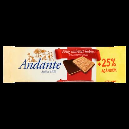 Kép Andante félig mártott keksz kakaós bevonatban 125 g