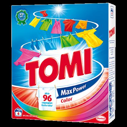 Kép Tomi Max Power Color mosószer 4 mosás 280 g