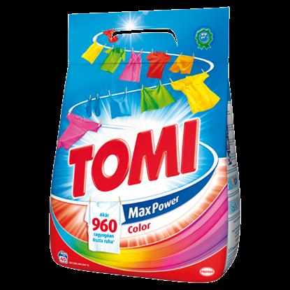 Kép Tomi Max Power Color mosószer 40 mosás 2,8 kg