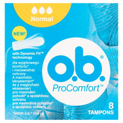 Kép o.b. ProComfort Normal tampon 8 db