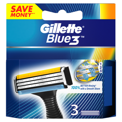 Kép Gillette Blue3 Férfi Borotvabetét 3 db