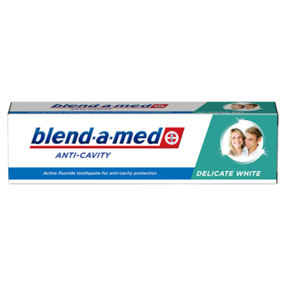 Kép Blend-a-med Anti-Cavity Delicate White Fogkrém, 100 ml