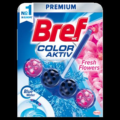 Kép Bref Color Aktiv Fresh Flowers WC-frissítő 50 g