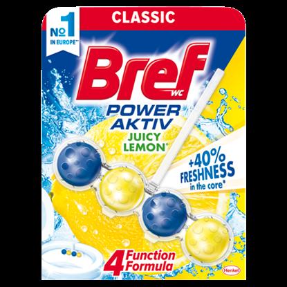 Kép Bref Power Aktiv Juicy Lemon WC-frissítő 50 g