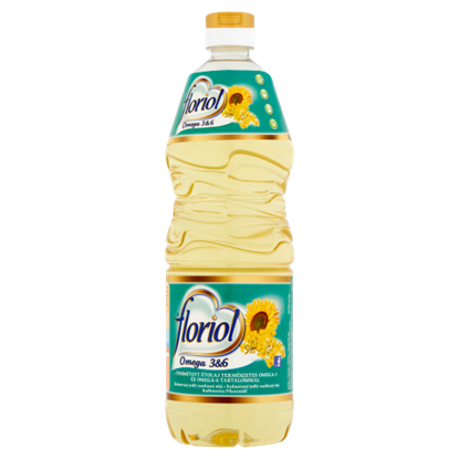 Kép Floriol finomított étolaj természetes Omega-3 és Omega-6 tartalommal 1 l