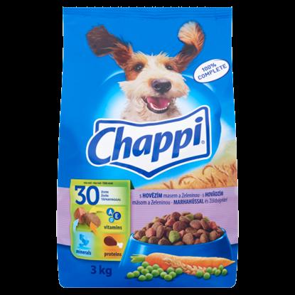 Kép Chappi teljes értékű állateledel felnőtt kutyák számára marhahússal és zöldségekkel 3 kg