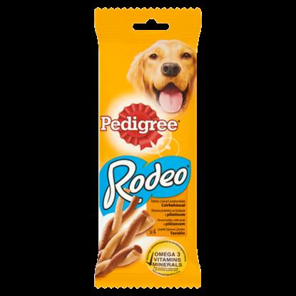 Kép Pedigree Rodeo kiegészítő állateledel felnőtt kutyák számára csirkehússal 4 db 70 g