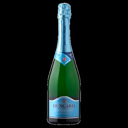 Kép Hungaria Extra Dry palackban erjesztett különlegesen száraz fehér minőségi pezsgő 0,75 l