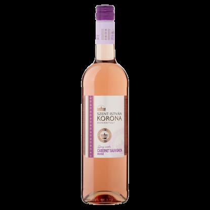 Kép Szent István Korona Dunántúli Cabernet Sauvignon Rosé száraz rosébor 0,75 l