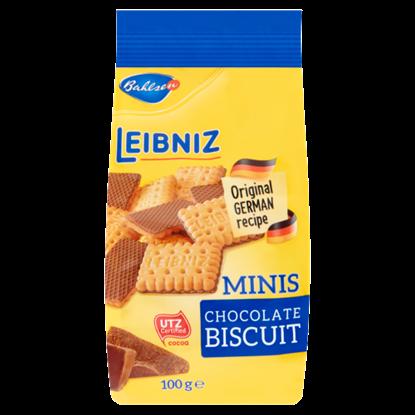 Kép Bahlsen Leibniz Minis ropogós keksz tejcsokoládéval 100 g
