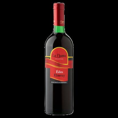 Kép La Fiesta Édes Élmény Duna-Tisza Közi Cuvée édes magyar vörösbor 10% 750 ml