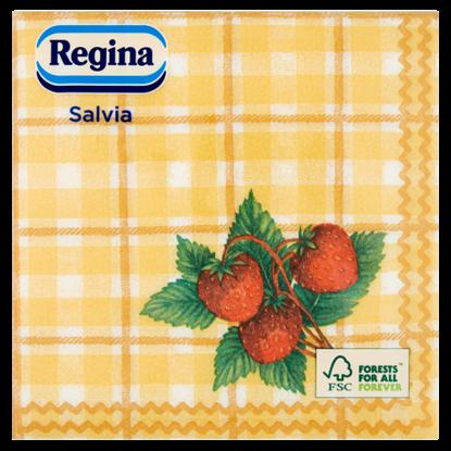 Kép Regina Salvia szalvéta 1 rétegű 33 x 33 cm 45 db