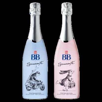 Kép BB Spumante Winter Edition édes, fehér, illatos minőségi pezsgő 0,75 l