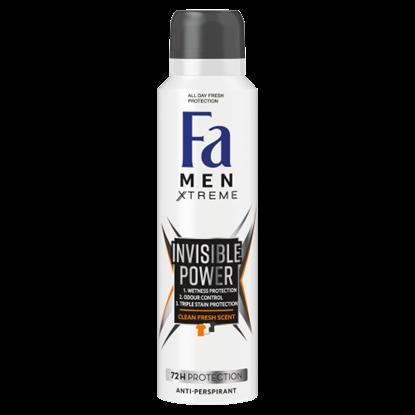 Kép Fa Men Xtreme Invisible Power izzadásgátló deospray 150 ml