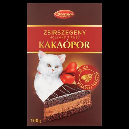 Kép Szerencsi holland típusú zsírszegény kakaópor 100 g