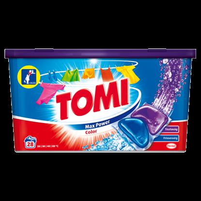 Kép Tomi Max Power Color mosókapszula színes ruhadarabokhoz 28 mosás 560 g