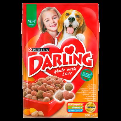 Kép Darling teljes értékű állateledel felnőtt kutyák számára szárnyassal 500 g