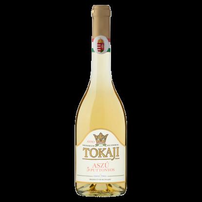 Kép Grand Tokaj 5 Puttonyos Tokaji Aszú édes borkülönlegesség 9,5% 0,5 l