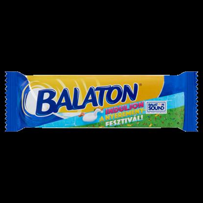 Kép Balaton kakaós tejbevonómasszával mártott, kakaós krémmel töltött ostya 30 g
