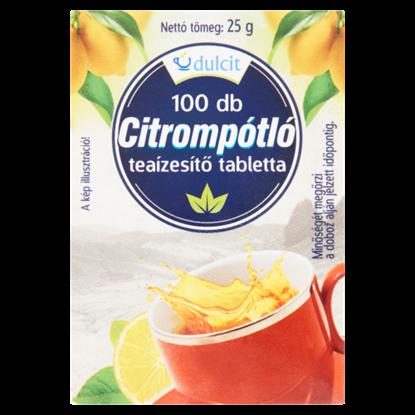 Kép Dulcit citrompótló 100 db 25 g