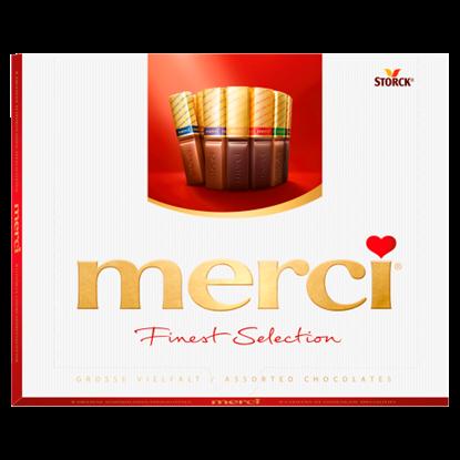 Kép Merci Finest Selection 8 csokoládékülönlegesség 250 g