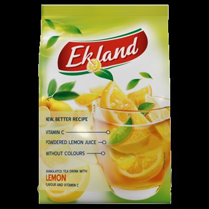 Kép Ekland azonnal oldódó citrom ízű tea üdítőitalpor C-vitaminnal 300 g