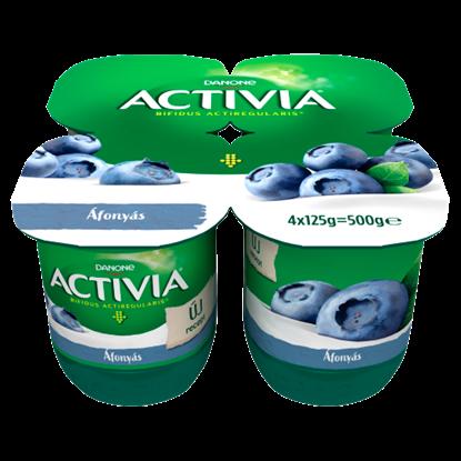 Kép Danone Activia élőflórás áfonyás joghurt 4 x 125 g