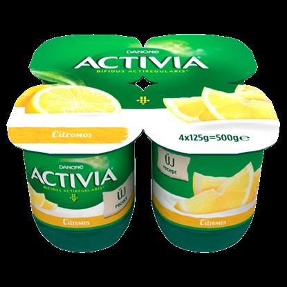 Kép Danone Activia élőflórás citromos joghurt 4 x 125 g