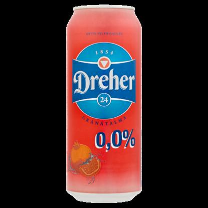 Kép Dreher 24 Gránátalma ízű ital és alkoholmentes világos sör keveréke 0,5 l