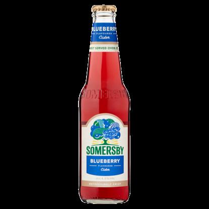 Kép Somersby cider almalé alapú szénsavas, alkoholos ital kék áfonya ízesítéssel 4,5% 330 ml