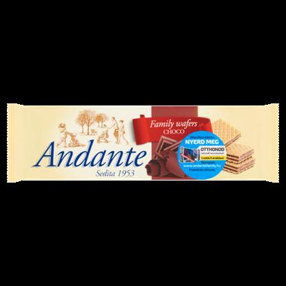 Kép Andante kakaós-csokoládés ízű krémmel töltött ostyák 130 g