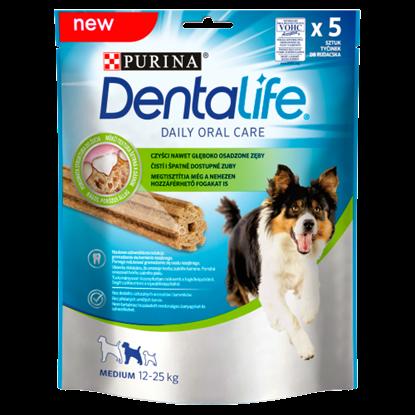 Kép Dentalife Medium jutalomfalat felnőtt kutyák számára 5 db 115 g