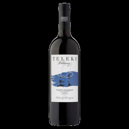 Kép Csányi Pincészet Teleki Villányi Portugieser classicus száraz vörösbor 12% 75 cl