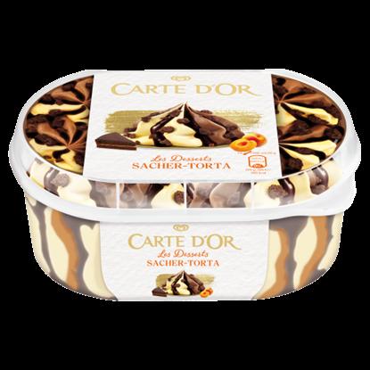 Kép Carte D'Or Sacher Torta jégkrém 900 ml
