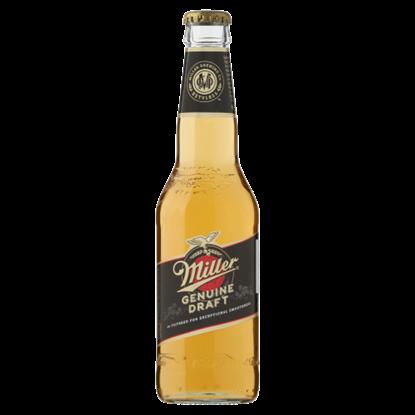 Kép Miller Genuine Draft minőségi világos sör 4,7% 330 ml