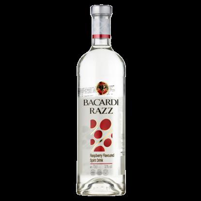 Kép Bacardi Razz málnaízű, rum alapú szeszesital 32% 0,7 l