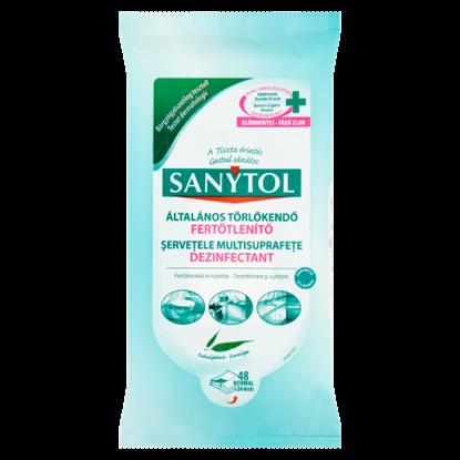 Kép Sanytol fertőtlenítő általános törlőkendő 24 db