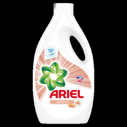 Kép Ariel Sensitive Folyékony Mosószer, 2200 ml, 40 Mosáshoz