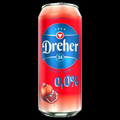 Kép Dreher 24 gránátalma-acai bogyó ízű ital és alkoholmentes világos sör keveréke 0,5 l