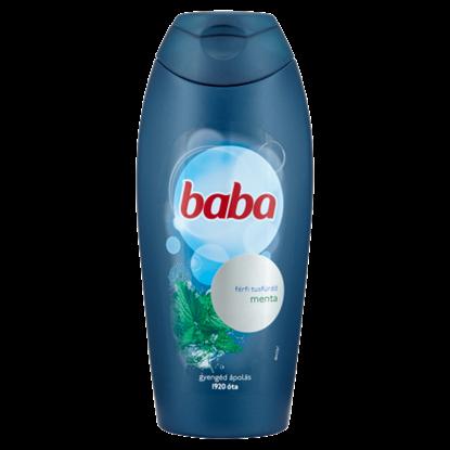 Kép Baba menta férfi tusfürdő 400 ml