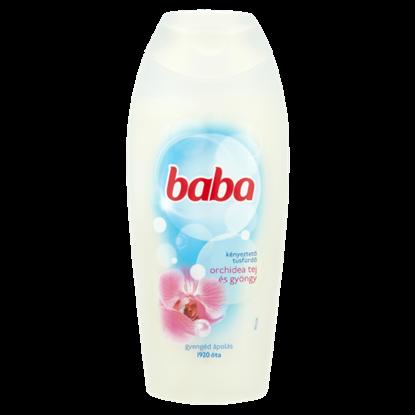 Kép Baba orchidea tej és gyöngy kényeztető tusfürdő 400 ml
