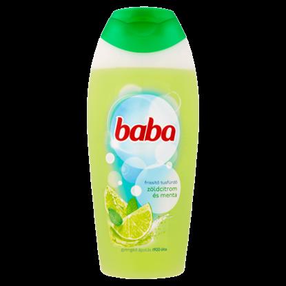 Kép Baba zöldcitrom és menta frissítő tusfürdő 400 ml