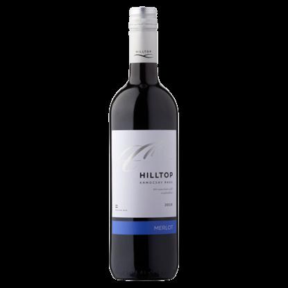 Kép Hilltop Dunántúli Merlot száraz vörösbor 14% 75 cl