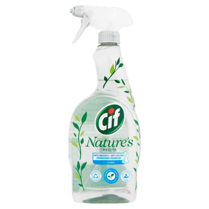 Kép Cif Természet Receptje fürdőszobai vízkőoldó 750 ml