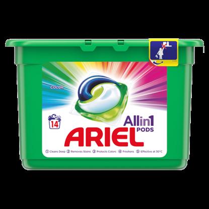 Kép Ariel Allin1 PODS Color Mosókapszula, 14 Mosáshoz