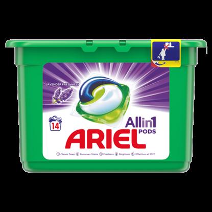 Kép Ariel Allin1 PODS Lavender Mosókapszula, 14 Mosáshoz