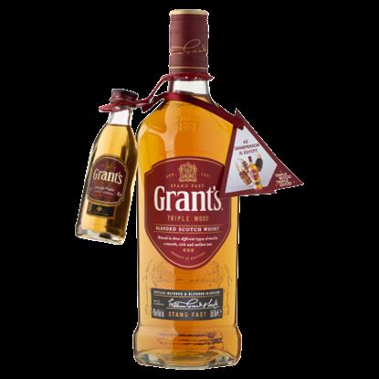 Kép Grant's Triple Wood skót whisky 40% 0,7 l + 0,05 l