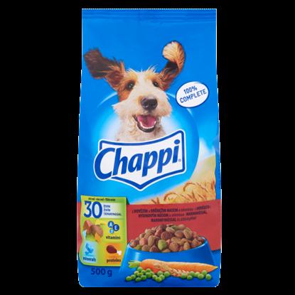 Kép Chappi száraz állateledel kutyák számára marha-baromfi-zöldség 500 g